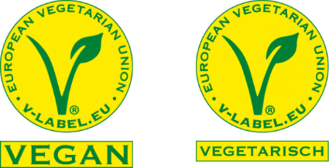 "V-Label ""vegan"" nd ""vegetarisch"""